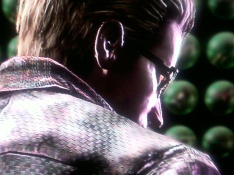 Wesker's angry by AlexiaC3222