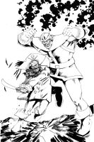 CBR3 round 2 Thanos vs Lechuck by wildcats25