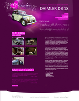 Rent Classic Car for Wedding by eeb-pl