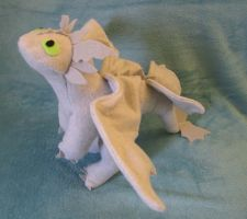 Smoke Fury Stuffed Dragon by Skylanth
