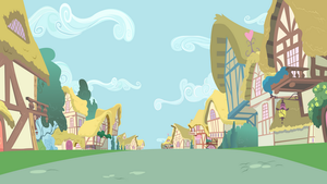 Ponyville Road View by BonesWolbach
