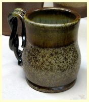 Salt Fired Mug - front by CreativelyStrange