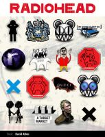 Radiohead Icons - PC by allentattoo