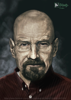 Walter White Breaking Bad by l3raindead