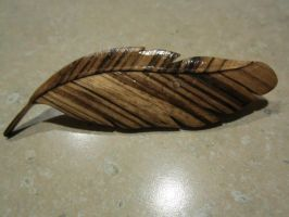 Feather pin by DMSscroller