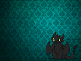 toothless wallpaper by ColonelCheru