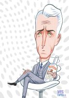 Roger Sterling  Mad Men by westyrell