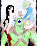 Adventure Time: Freaks no more by hewhowalksdeath