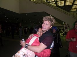Me and Vic Mignogna by Lady-Koisuki