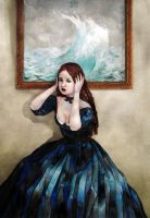 Her thoughts like a sea storm by skaari