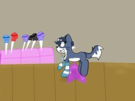 In the candy factory (finished) by Thesarcasticpug