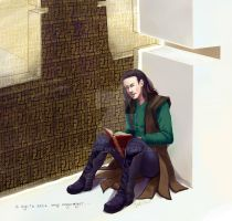 finished Loki by Juli556