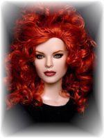 Fiona, OOAK doll repaint by DalilaDolls