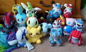 My Pokedoll Collection 2 by Fishlover
