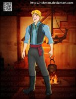 Kristoff  Bjorgman Frozen Disney by Richmen
