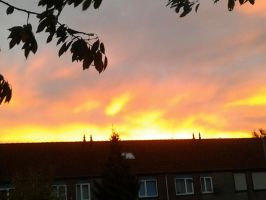 ....Lucht.....did you set the sky on fire again? by AestheticTotem