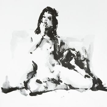 Life Drawing by Booderforce