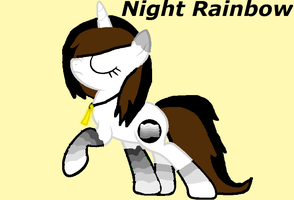 Night Rainbow! [The New Dark Paintbrush] by RubytheCat12