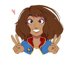 Kamala Khan by ActionKiddy