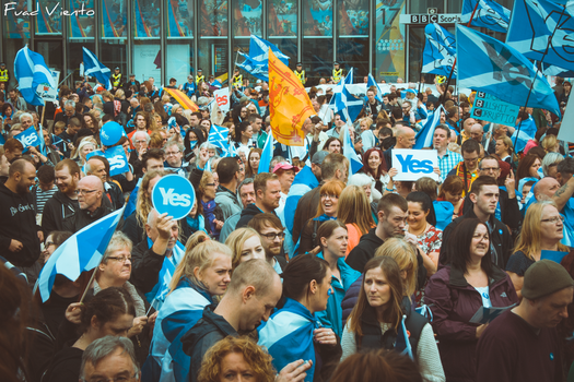 Yes to Scottish Independence by Aeromars