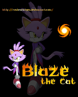 Blaze the Cat by ViaReweaving