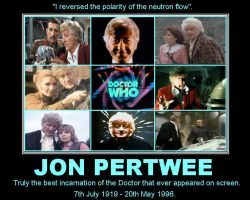 Jon Pertwee [7th July 1919 - 20th May 1996] by DoctorWhoOne
