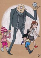 Despicable Me by Gaara0013