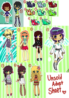 [Kois] Unsold Adopts Sheet {Open} by Mysteryy-Adopts