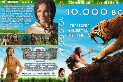 10.000 BC Cover DVD ver.3 by michael160693