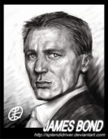 James Bond by splendidriver