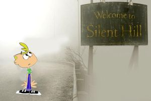 Jimmy two shoes in silent hill by Traubenzucker