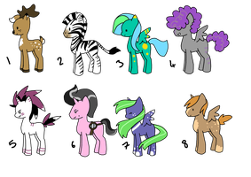 PONY ADOPTS 2 :OPEN: by ArtisticGremlin