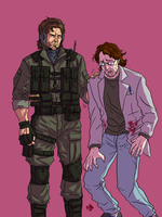 Pliskin and Otacon by Prydonian-Poet