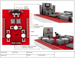 Social TamBAYAN : Floor Plan Sample by mikimikimchi