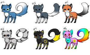 FIRST BATCH OF ADOPTS EVER ASDFGHJKL by bambous