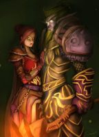 Warcraft commish by DarrenGeers