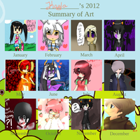 2012 Art Summary by Bunni-Hat