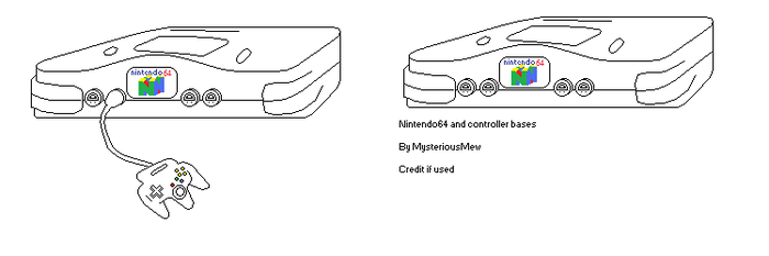 Nintendo64 Bases by MysteriousMew