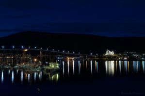 Tromsoe by Night by netrex