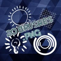 Pixlr Brushes by ISatQuietly