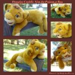 Douglas Cuddle Simba Pajama Bag by DoloAndElectrik