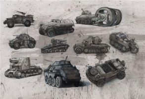 Tank Concepts by alexsurf7