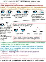 BLINKING EYES tutorial -OLD- by Jinkuri