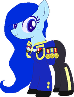 My new Earth Pony OC General Blue Arial by LR-Studios
