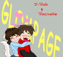 Glompage j-rob an Rachelle by Sweet-As-Spice