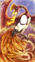 Ho-Oh by Aurora-Silver
