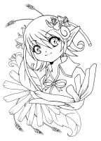 Spring in my heart lineart by Sefi