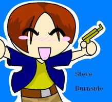 Resident Evill Chibi Steve by SergeanTrooper