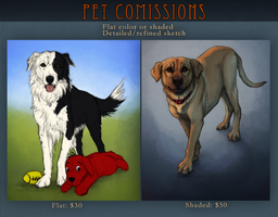 Pet Commissions 2015 by Canis-ferox