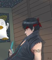 Hijikata neet colored by rachel-chong